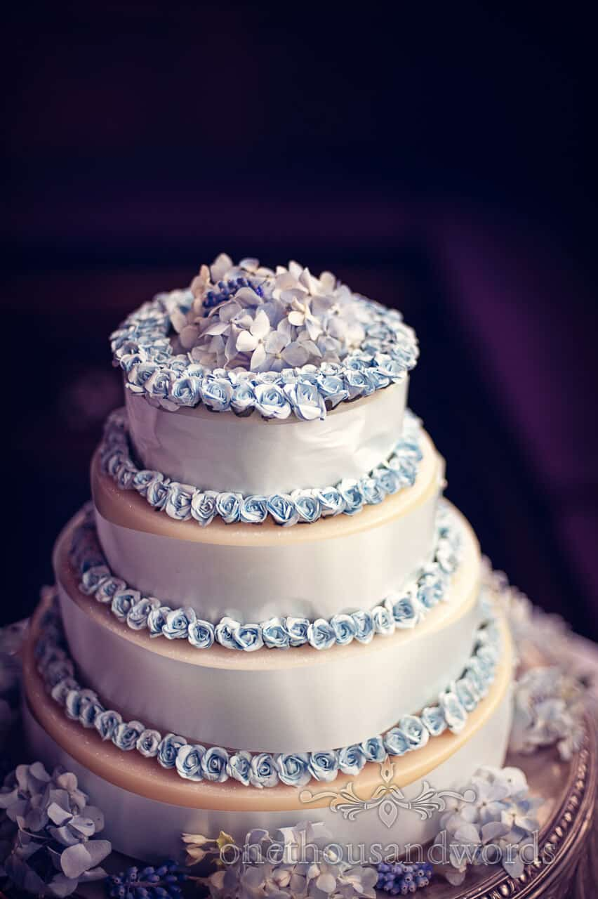 Wedding cake made of soap