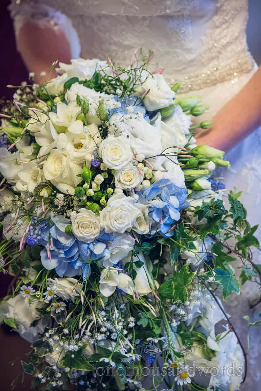exclusively weddings bridal bouquet New Forest Wedding venue