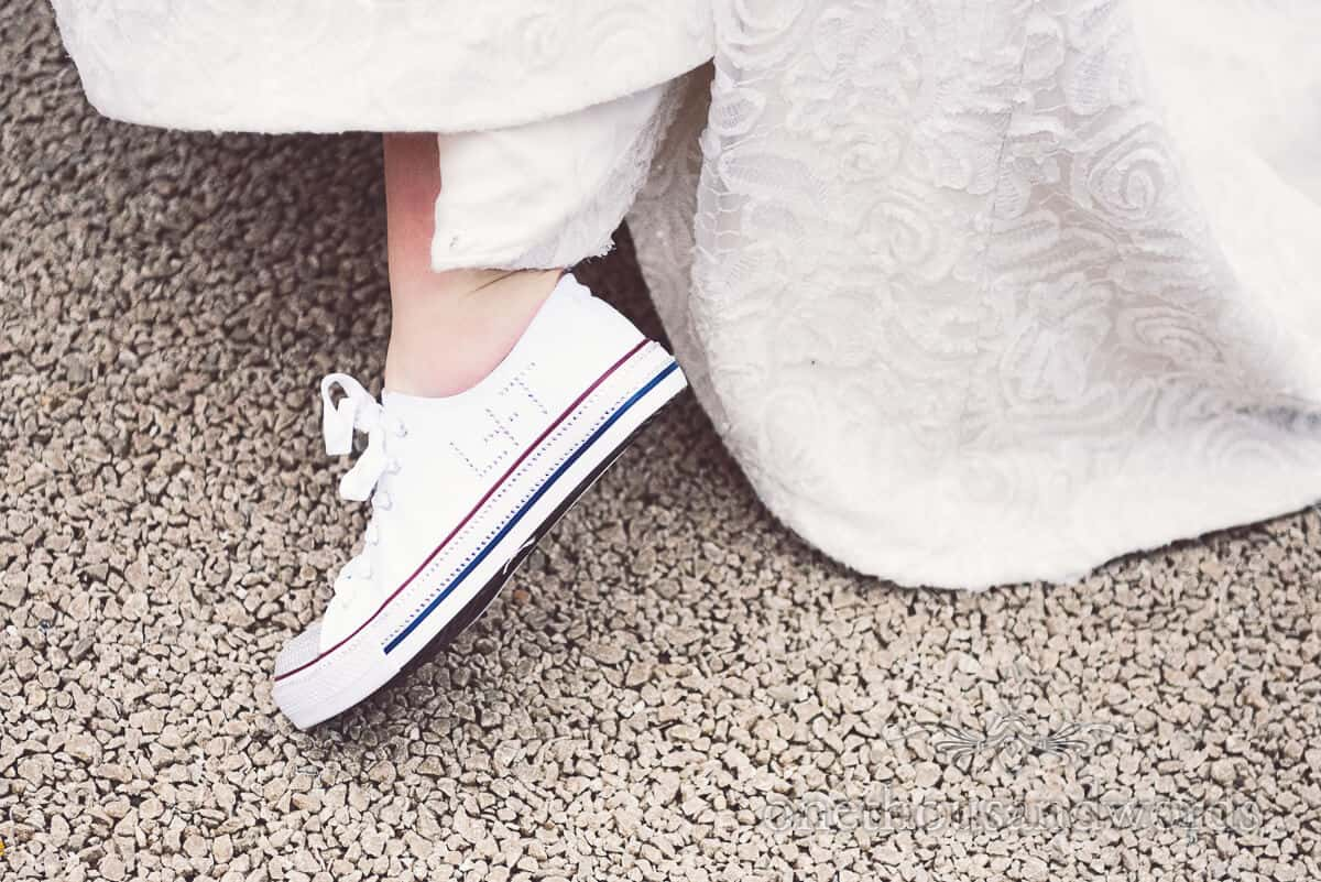 diamonte converse wedding shoes