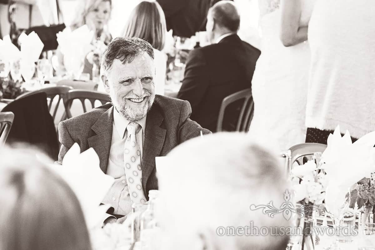 guest at purbeck wedding photographs