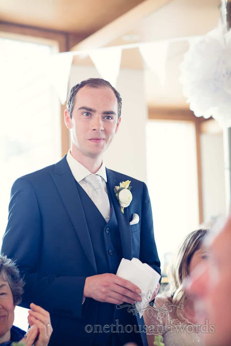 purbeck wedding grooms speech photographs