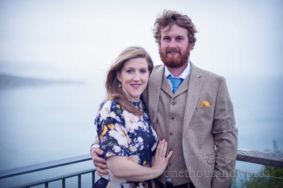 swanage wedding photographs guest portraits