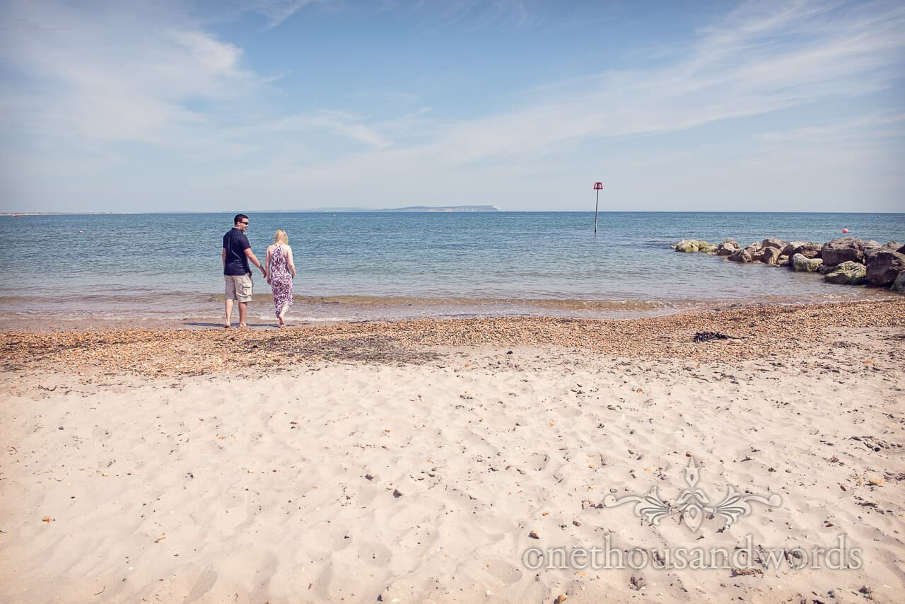 Hengistbury Head beach Engagement Shoot