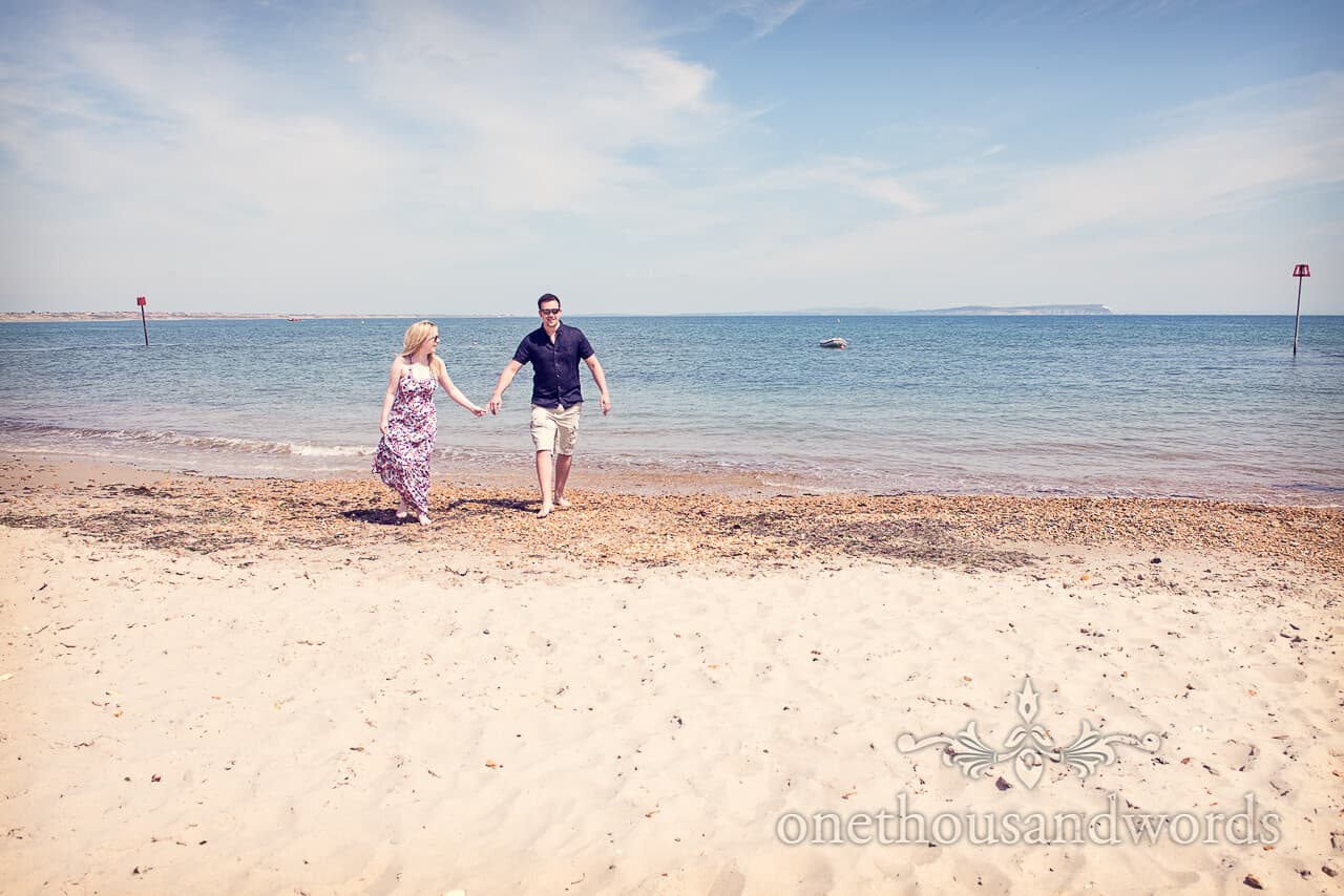 Heingistbury Head Engagement beach photo shoot