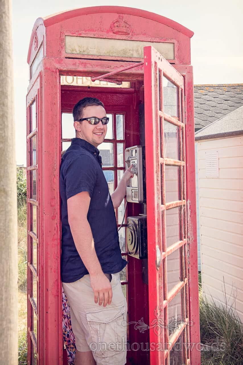 Heingistbury Head red phone box