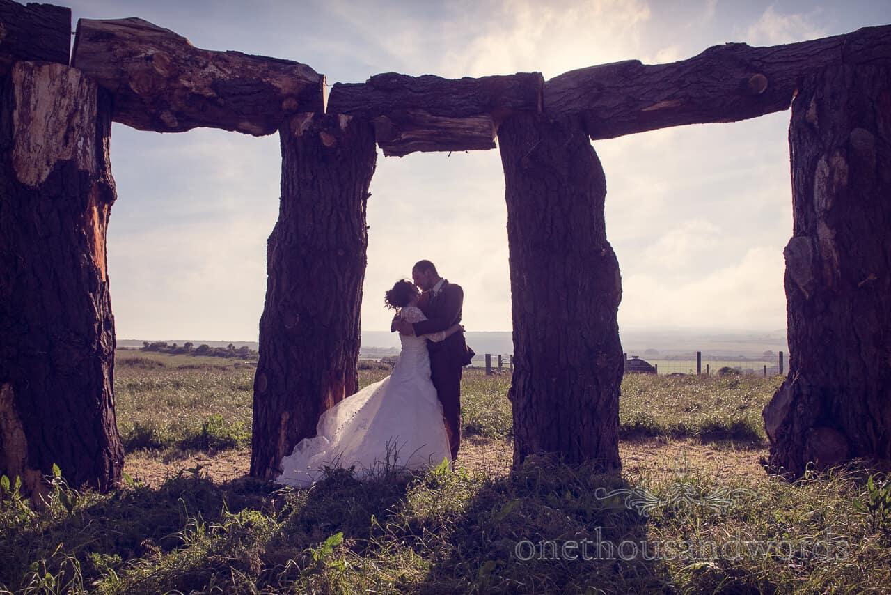 Country Wedding Photographs at a Unique Dorset Wedding Day