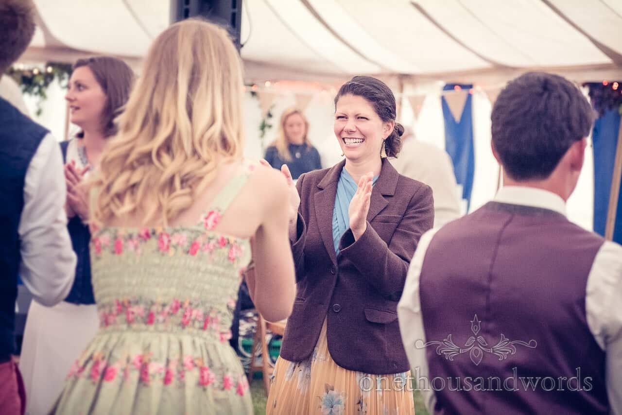 Country wedding barn dance