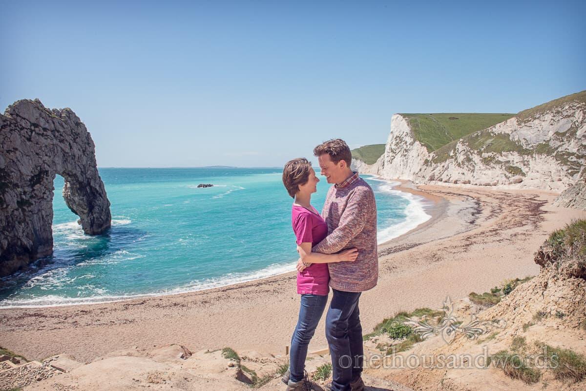 Durdledoor Engagement Photographs with Anneli & Julian