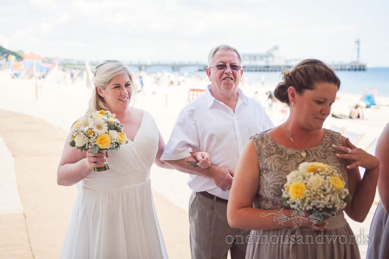 Bournemouth Beach Wedding Photographs