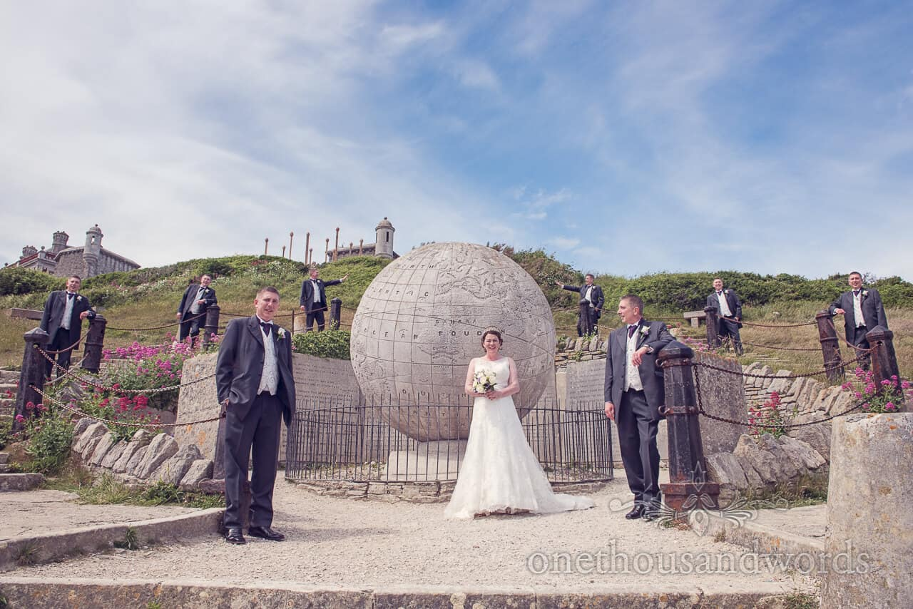 Clone the Groom photograph at Durlston Castle