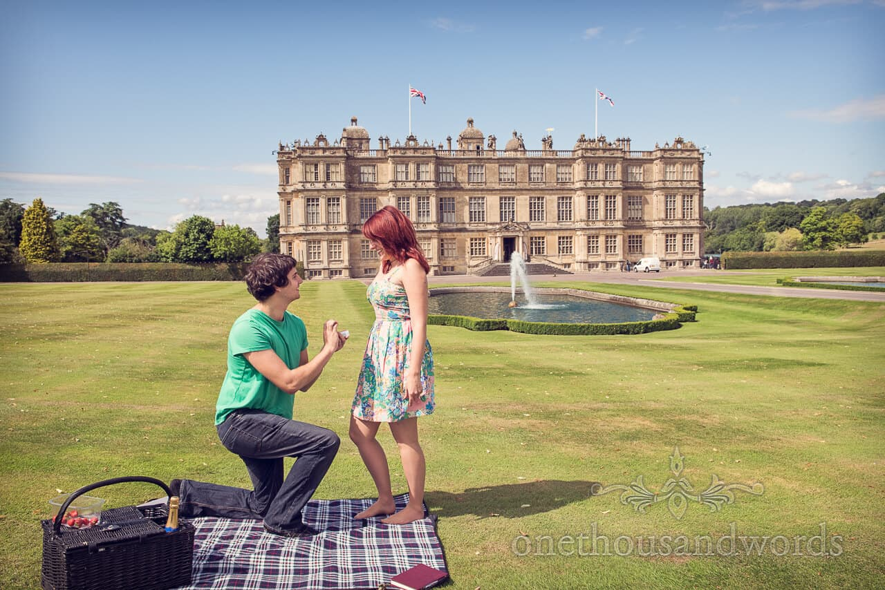 Longleat Engagement Photographs with Ryan and Melissa
