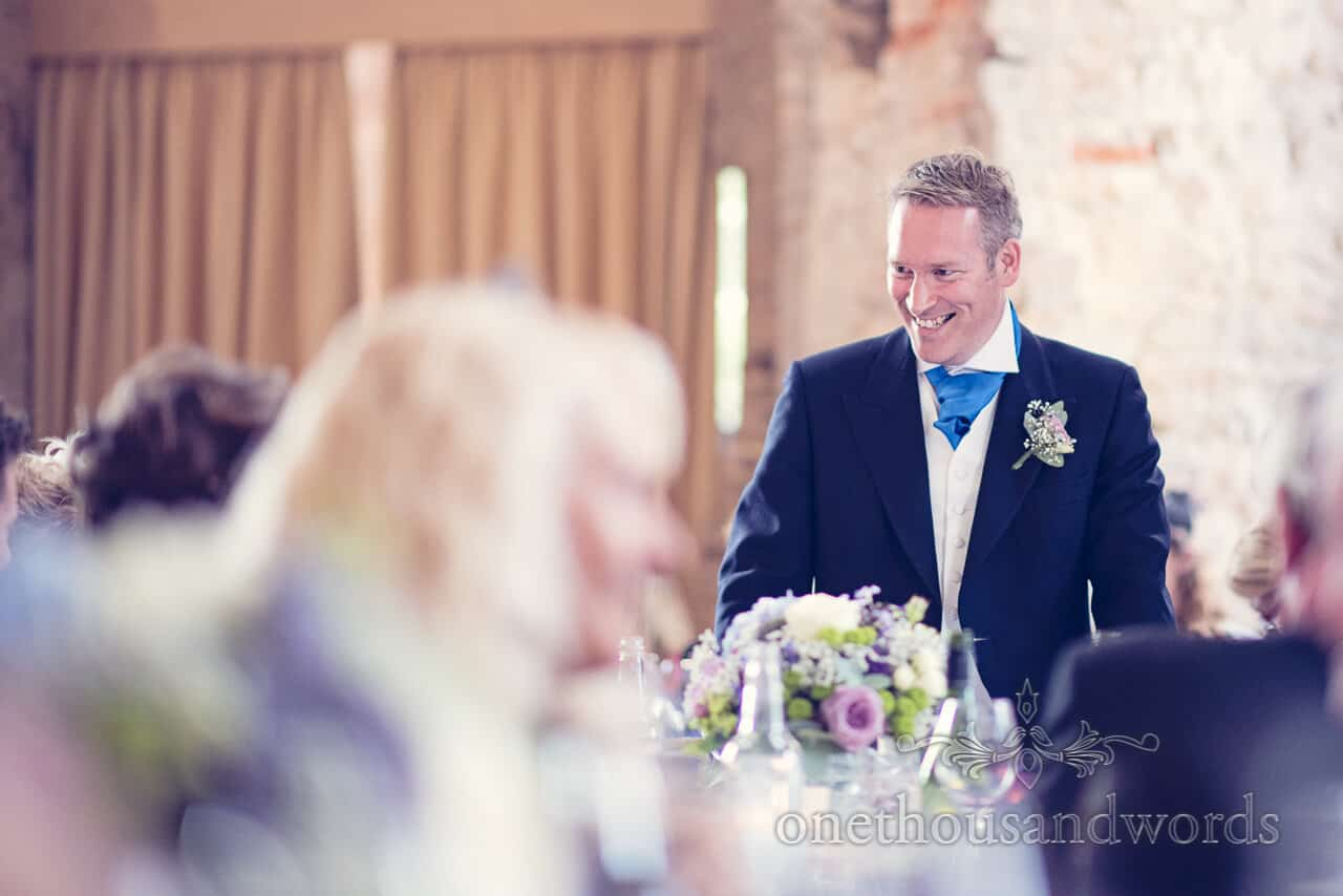 Best man's speech at Lulworth Castle wedding