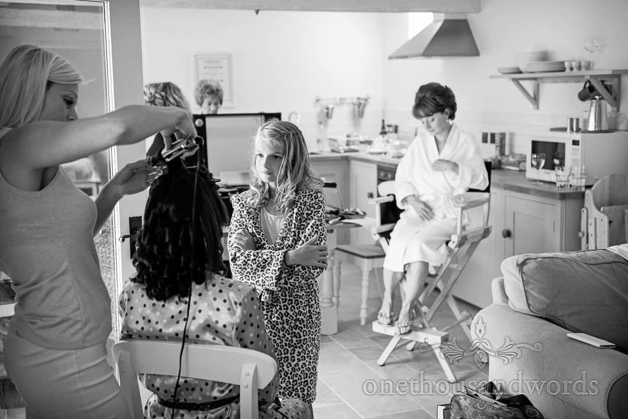 Bridal Preparations Documentary Wedding Photograph