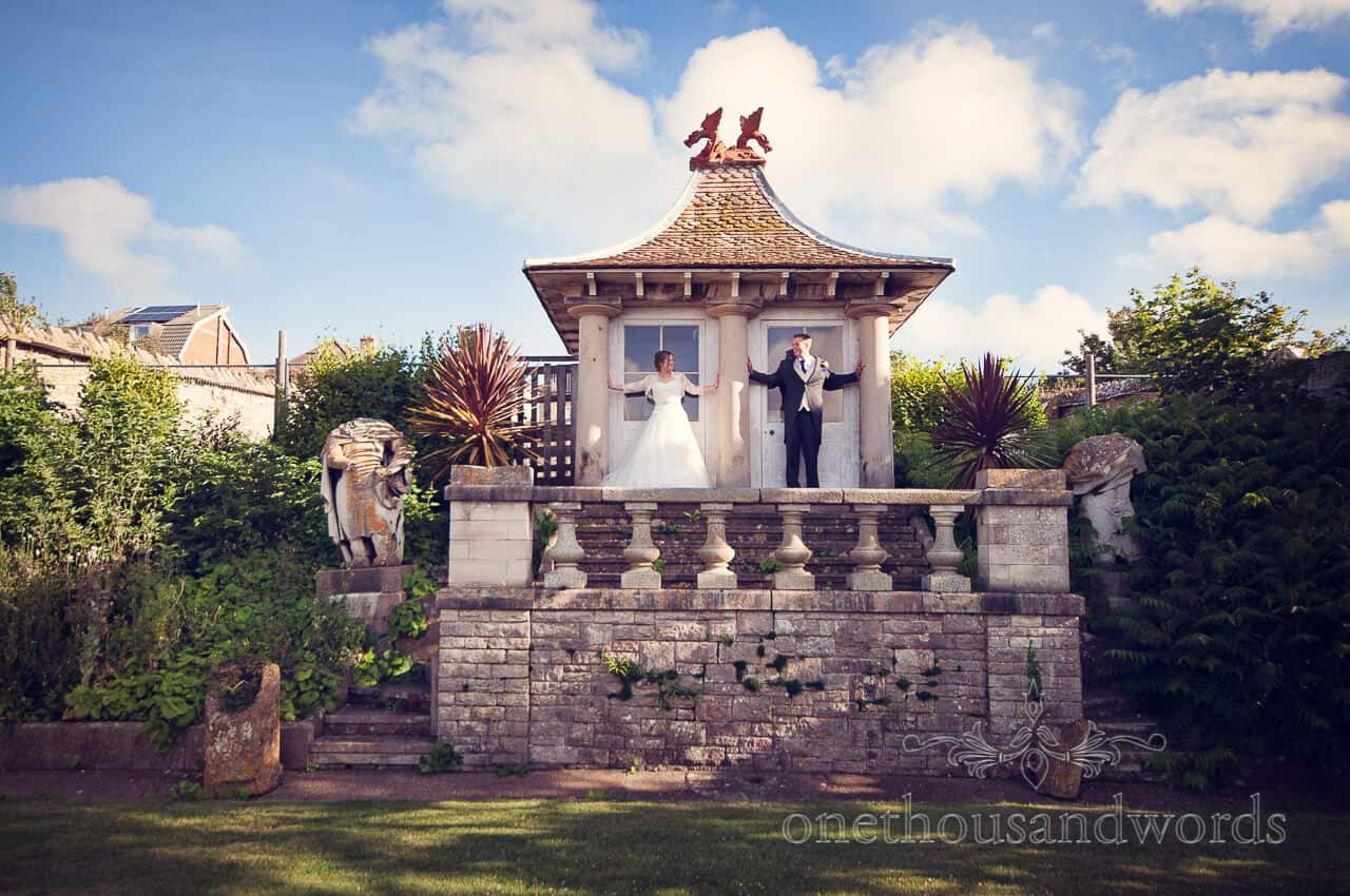 Purbeck House Hotel Wedding Photographs in Swanage