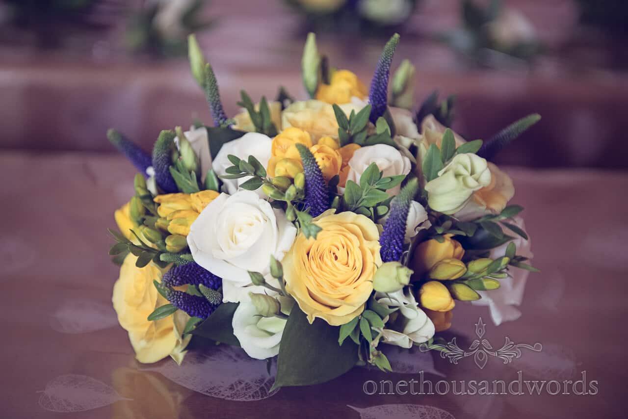 Charlotte Trim countryside wedding bouquet Dorset
