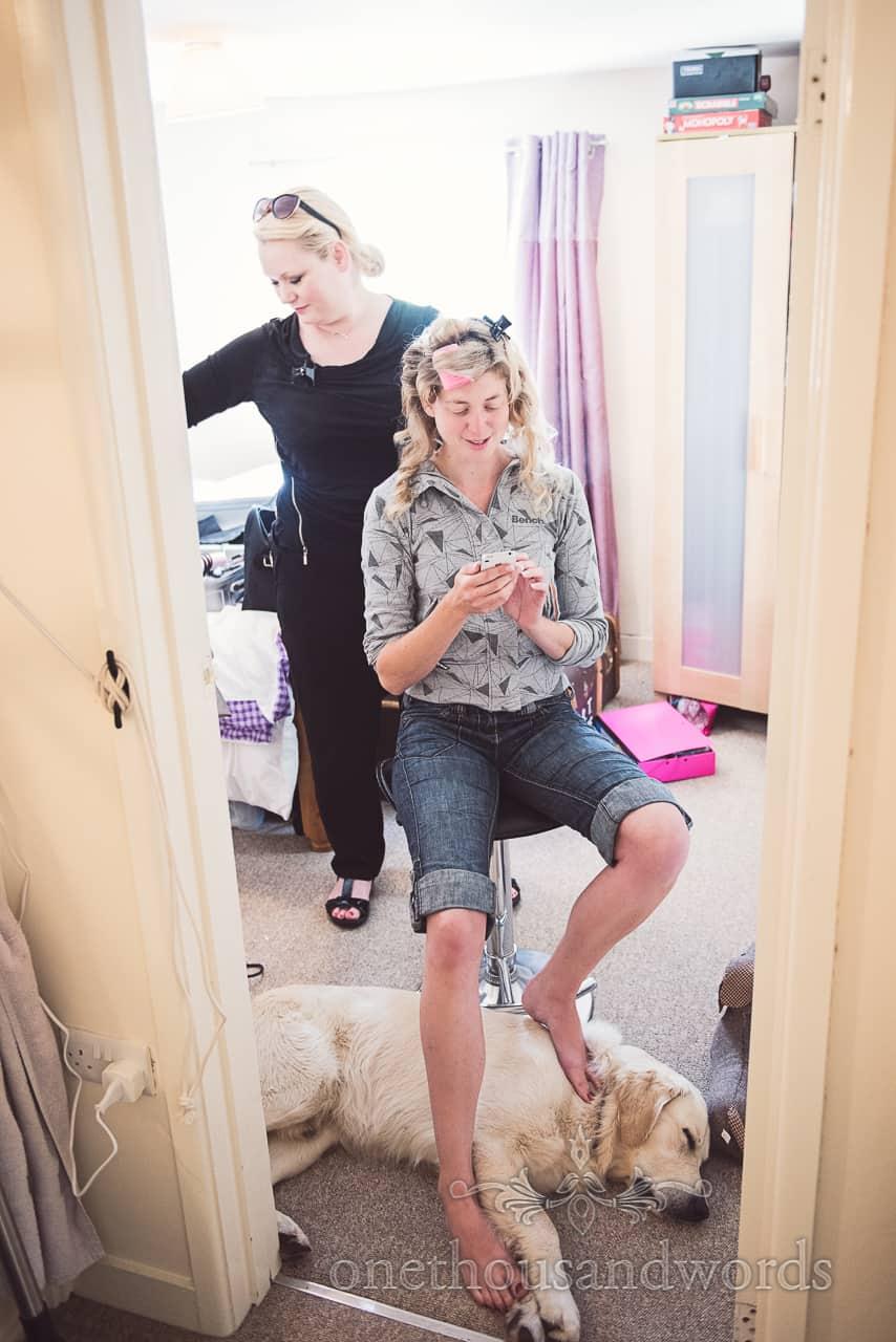 Laura Mackenzie Wedding Hair Stylist in Dorset