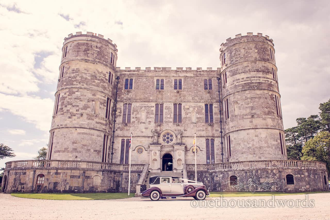 Lulworth Castle wedding photograph