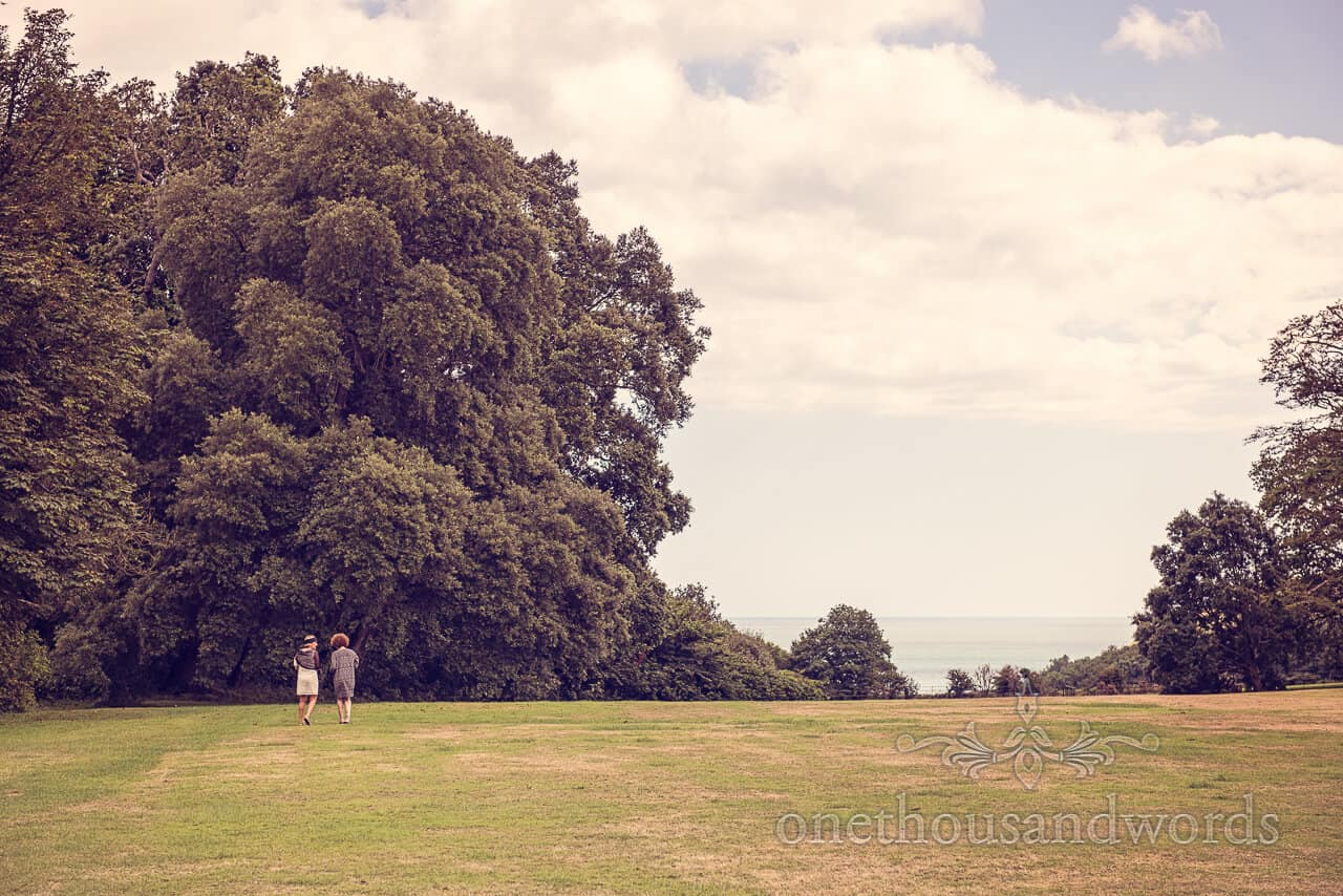 Lulworth Castle wedding photographs of guests