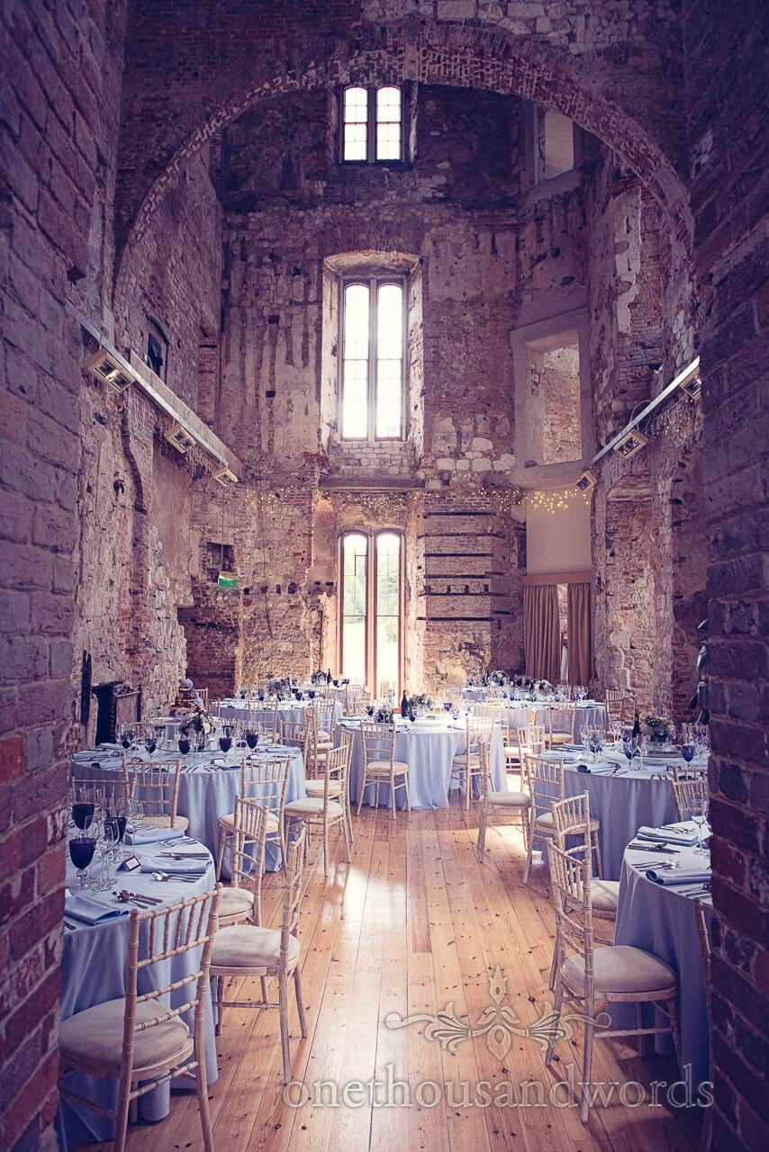 Lulworth Castle Wedding Photographers of venue