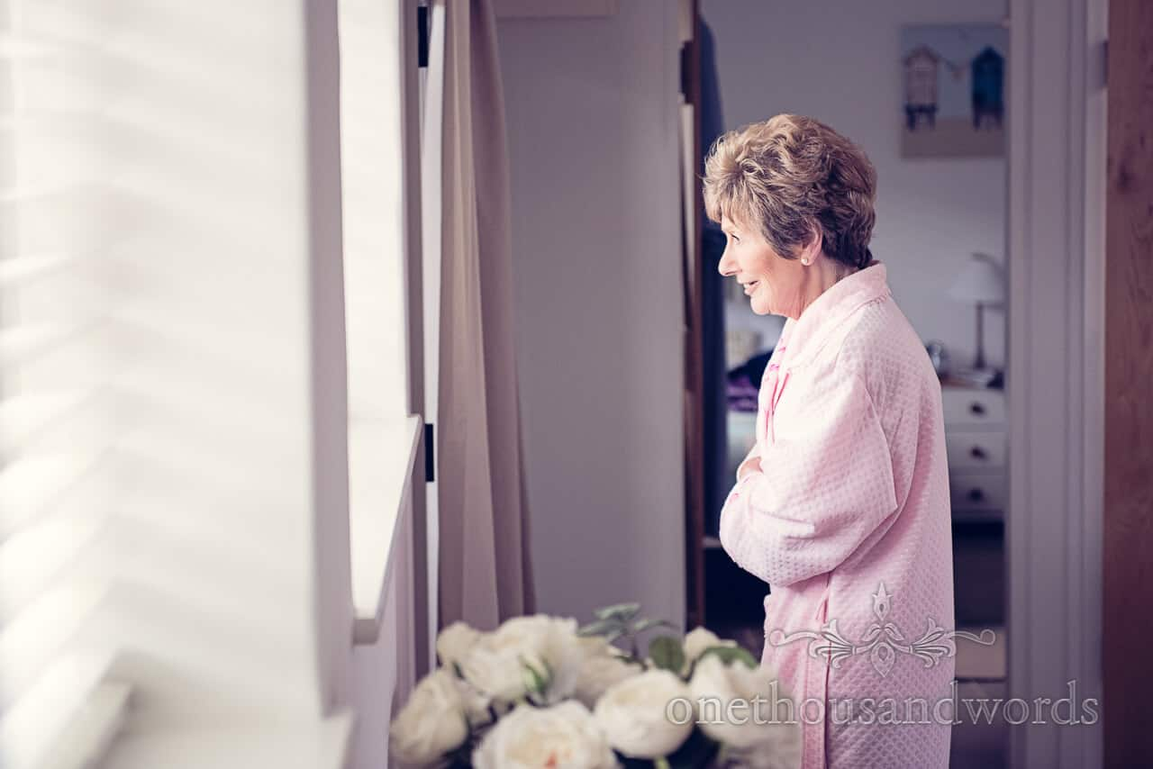 Mother of the Bride Wedding Morning Portrait