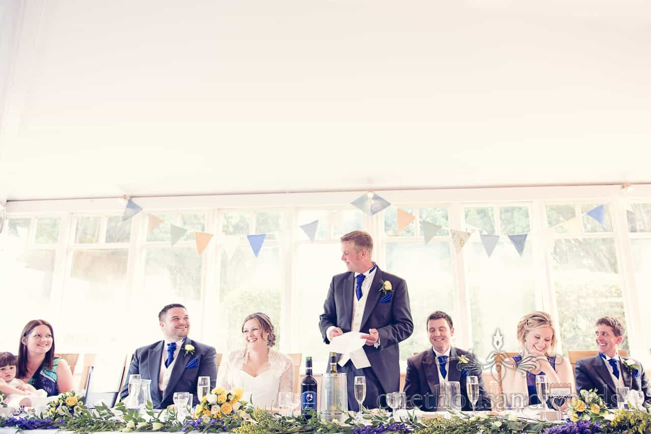 Purbeck House Hotel Wedding speeches
