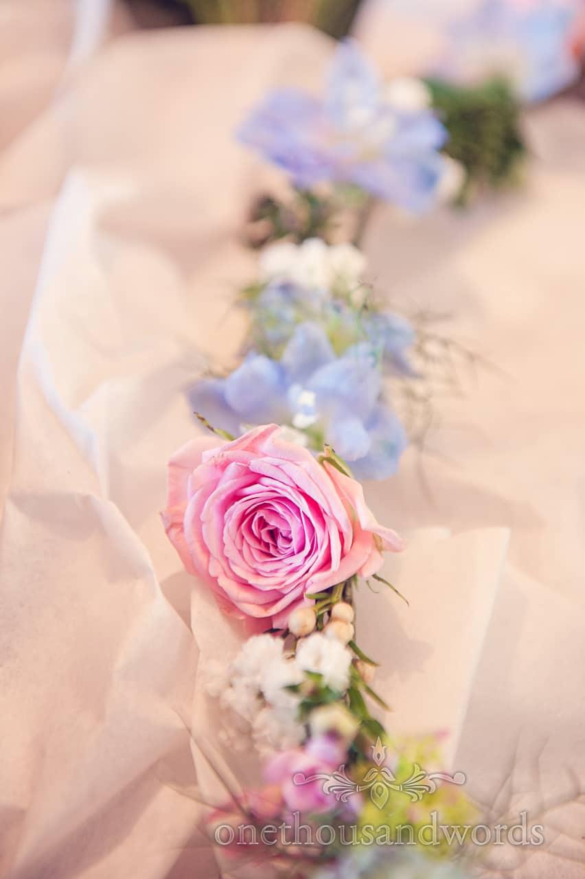 wedding flowers by Bloom florist Swanage Dorset