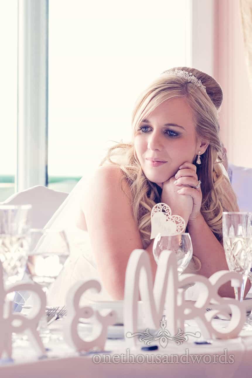 Bride portrait at Dudsbury Golf Club Wedding