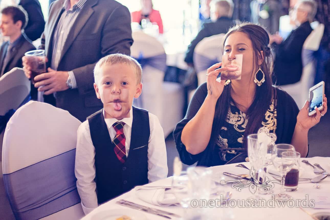 More Photo card fun at reception