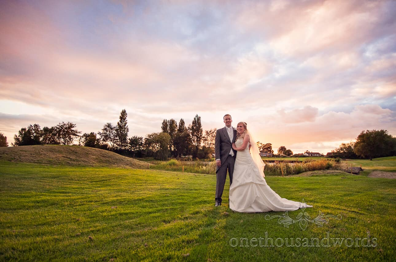 Dudsbury Golf Club Wedding Photographs by one thousand words