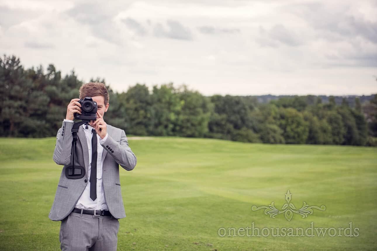 Wedding videographer at Dudsbury Golf Club Wedding