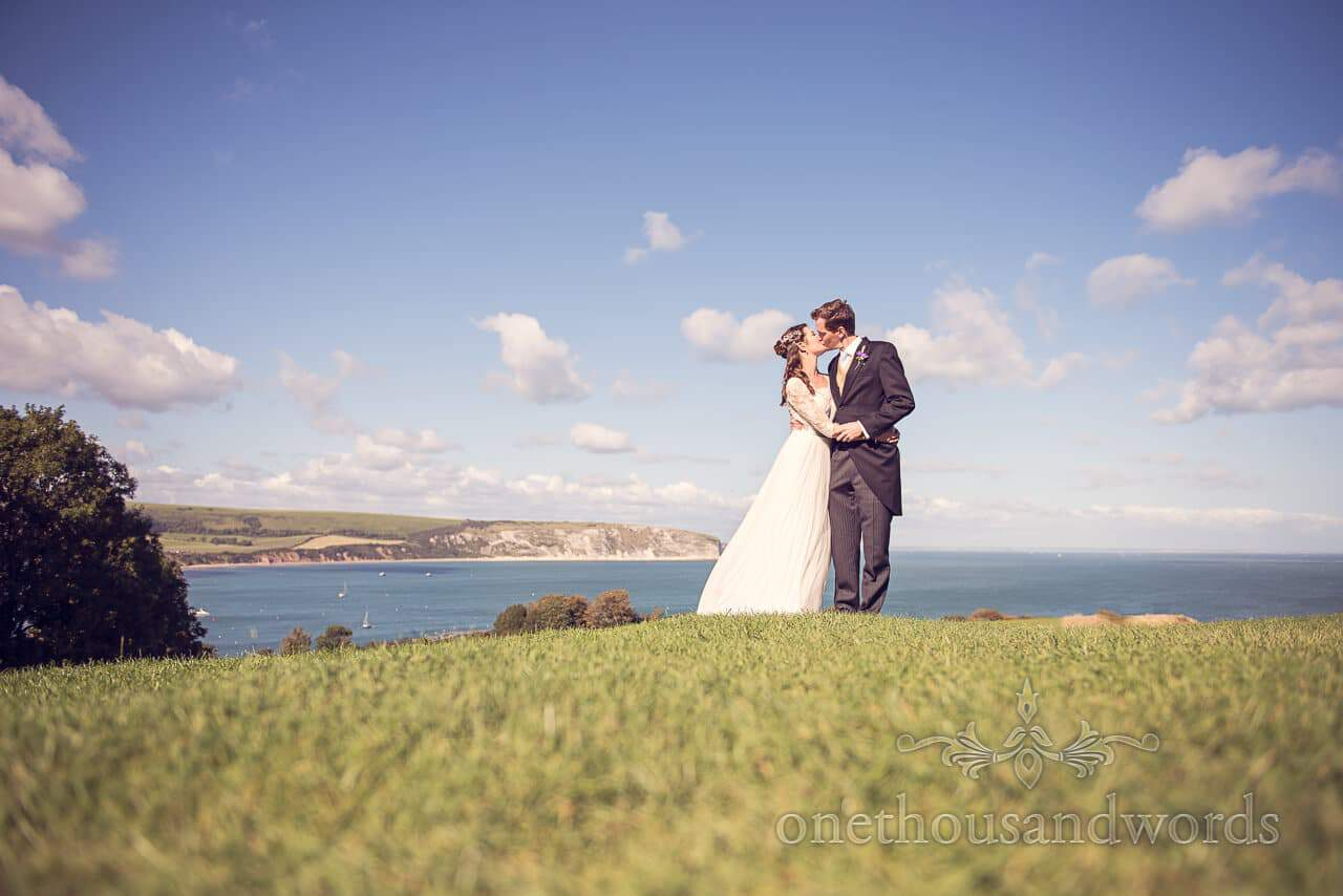 Dorset Wedding Photographs at Home in Swanage