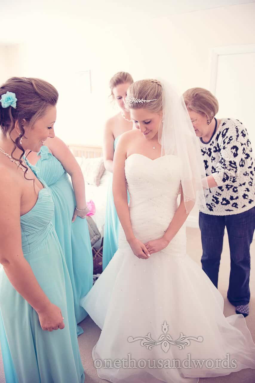 Final preparation before Parley Manor Wedding