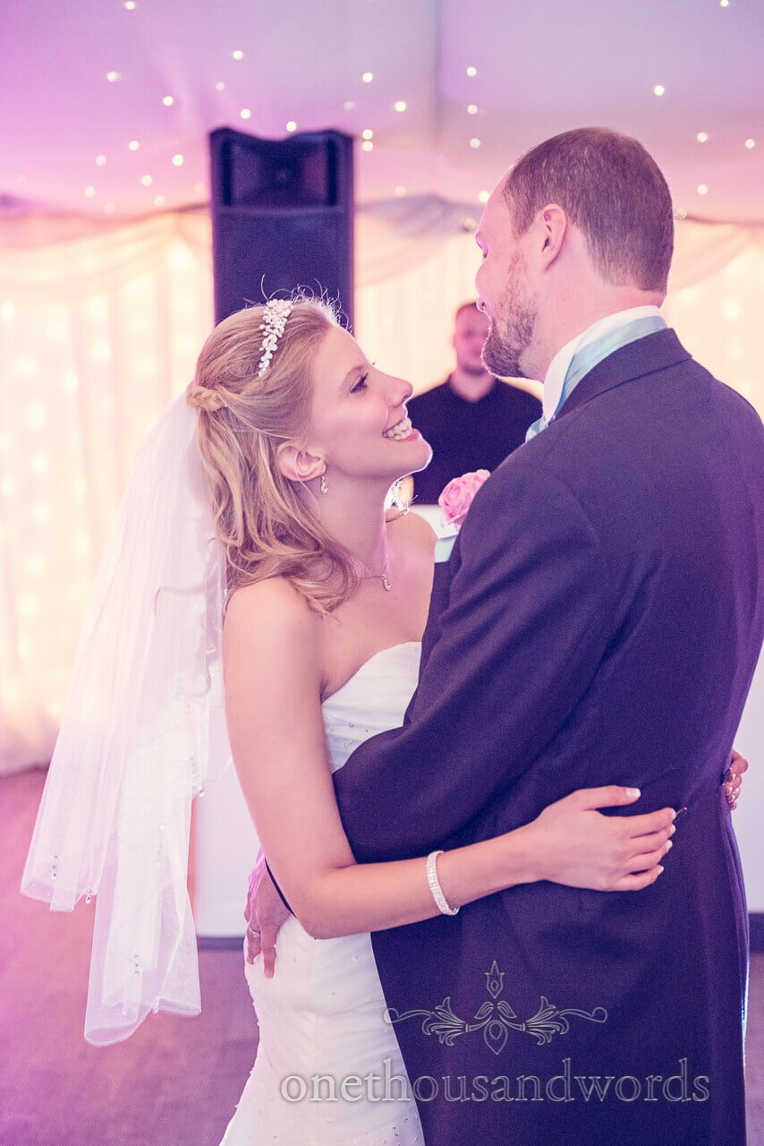 First dance at Parley Manor Wedding