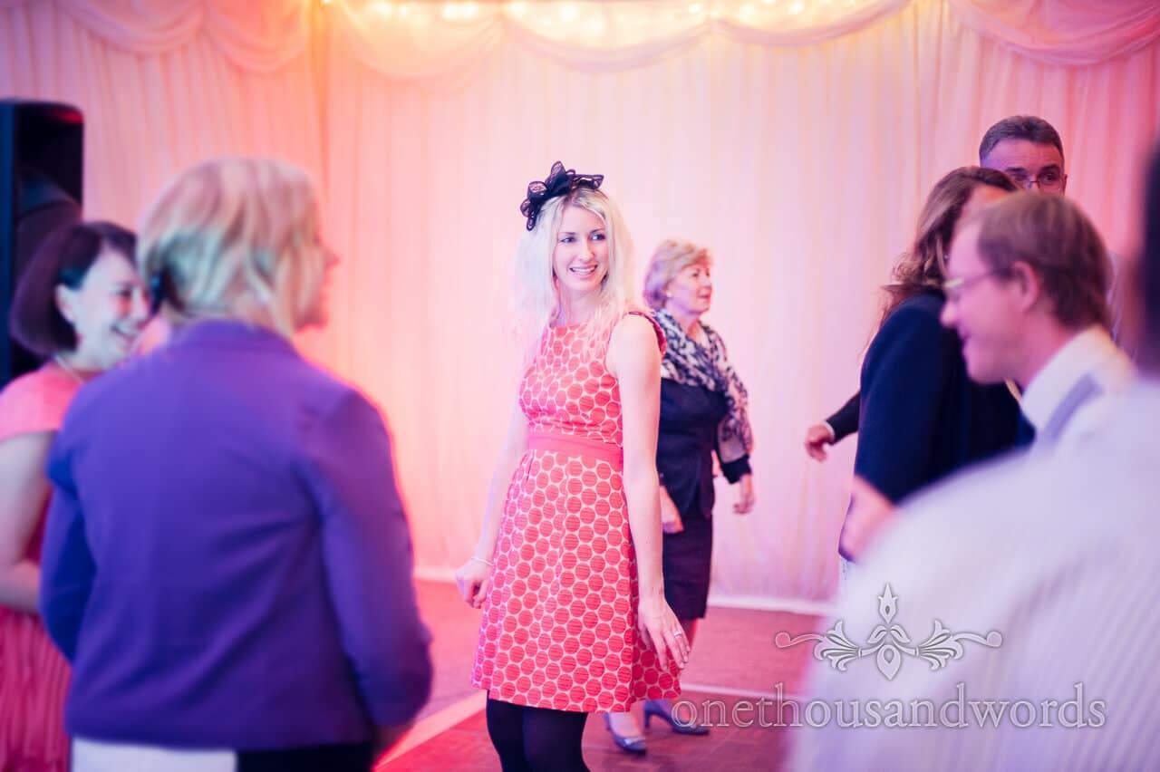 Guests dance at Studland Bay House Wedding