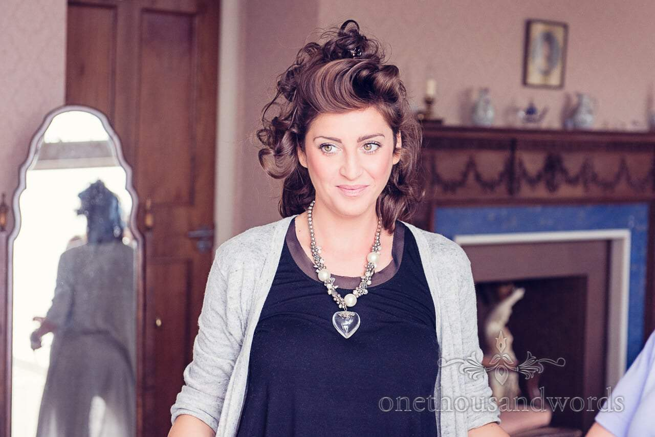 Make up Artist at Studland Bay House Wedding