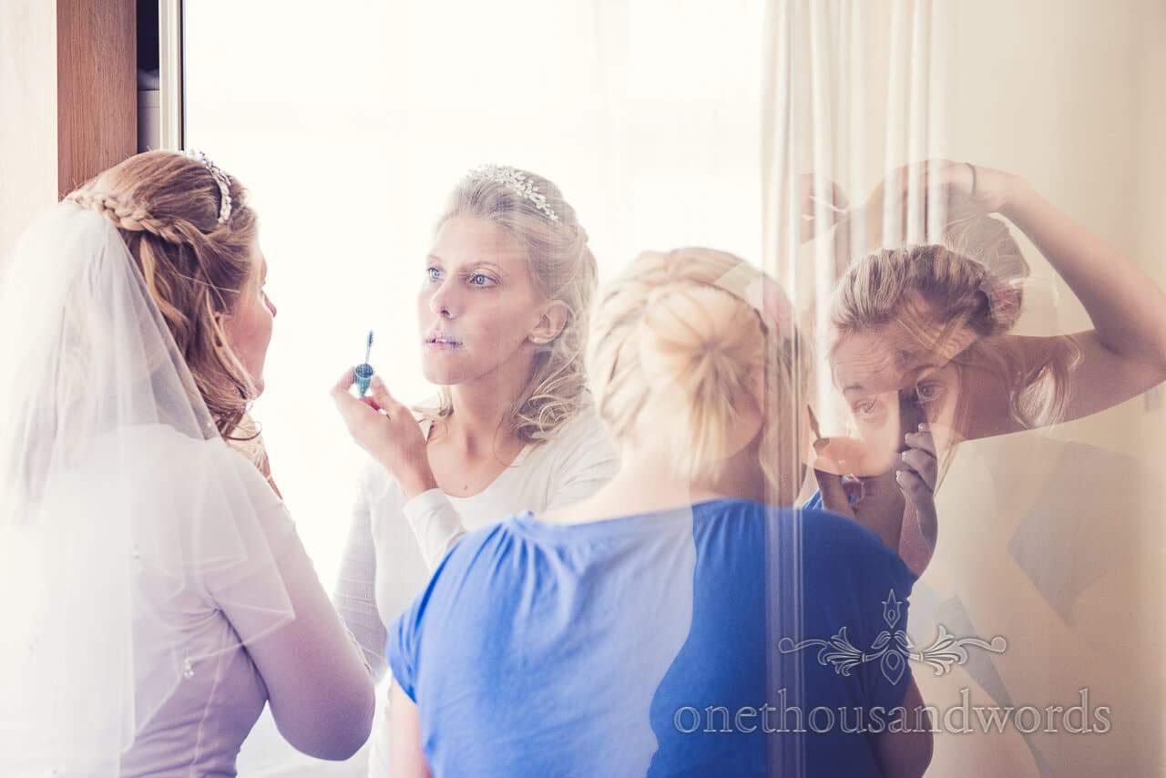 Make up at Parley Manor Wedding