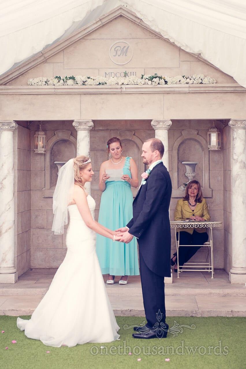 Reading at Parley Manor Wedding