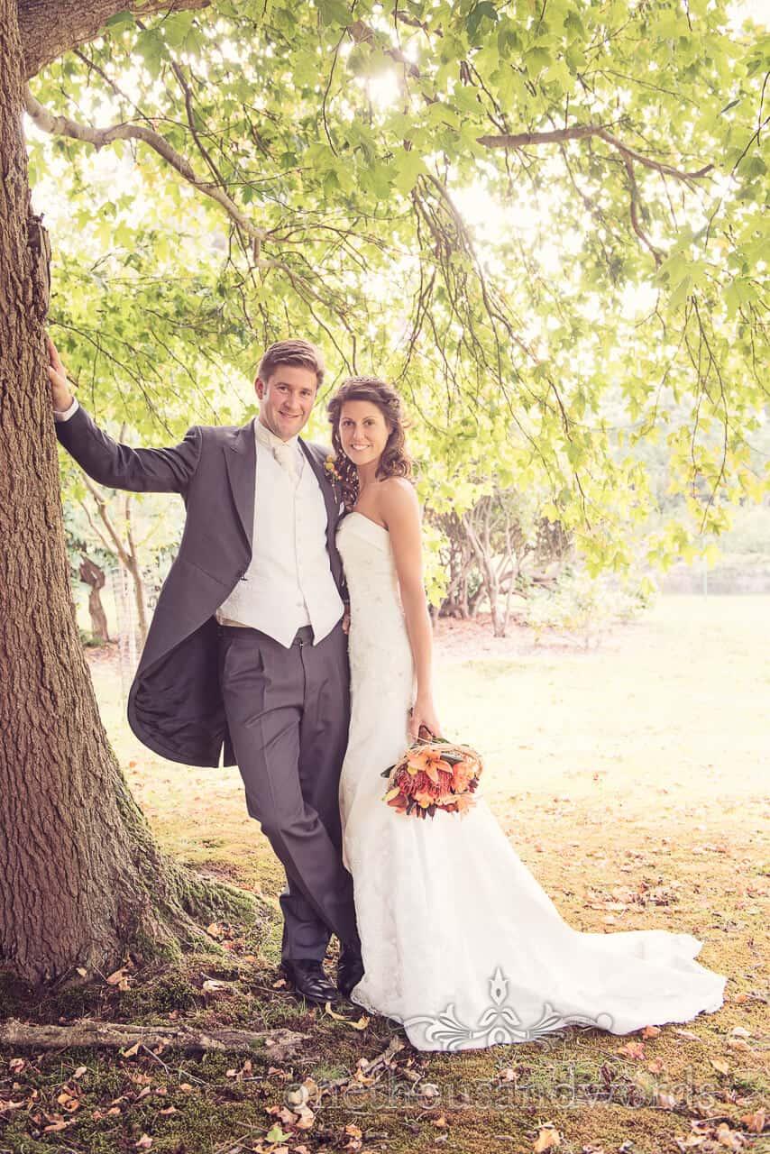 Studland Bay House Wedding Couple