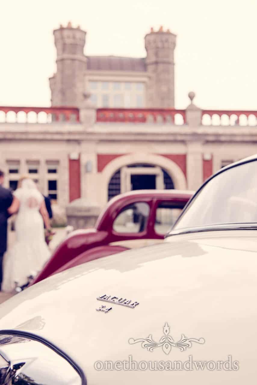 Wedding Cars at Dorset Castle Wedding