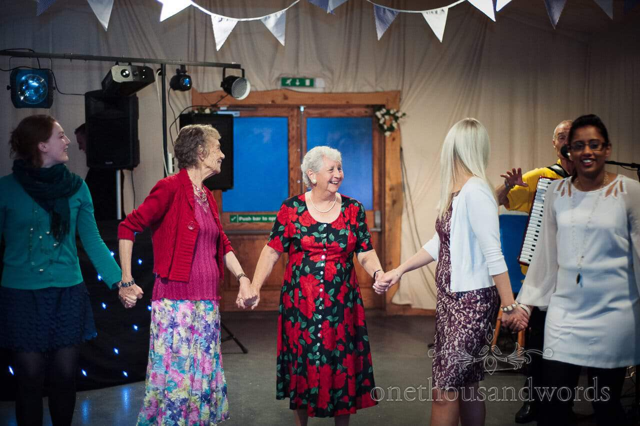 Barn dance in Carpenters Barn, weddings in the wood