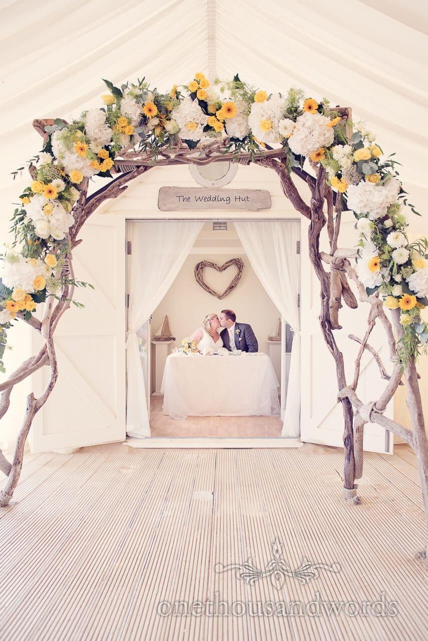 Bournemouth Beach Wedding Photograph