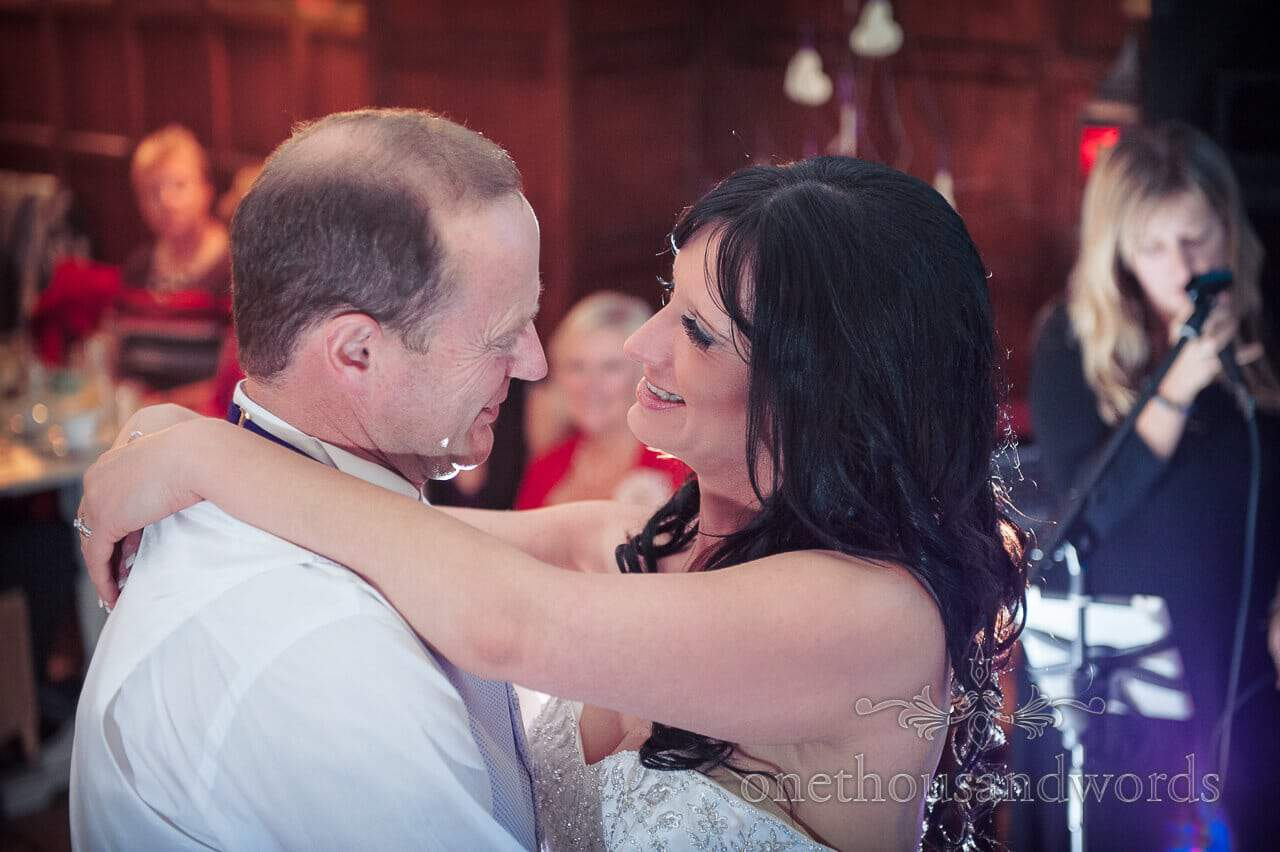 First dance at Corfe Castle Wedding