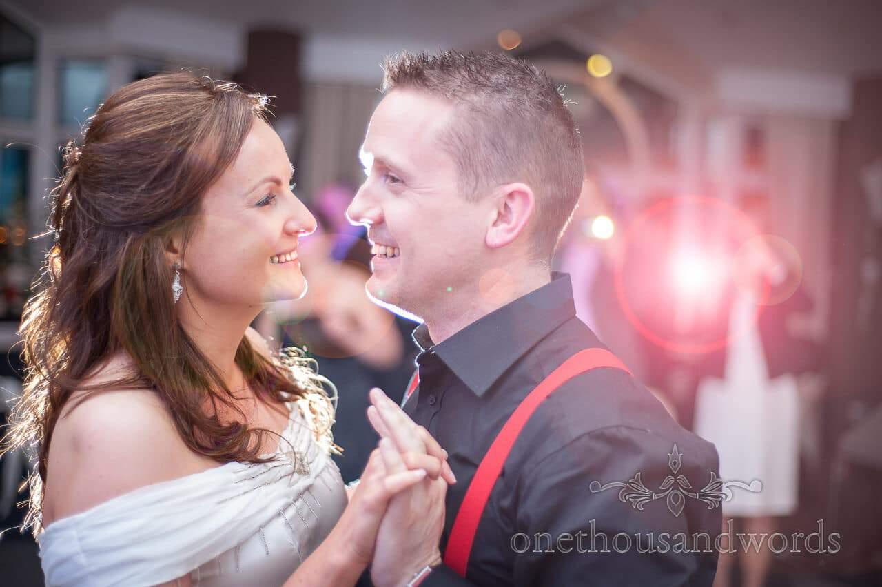 First Dance at Sandbanks Hotel wedding