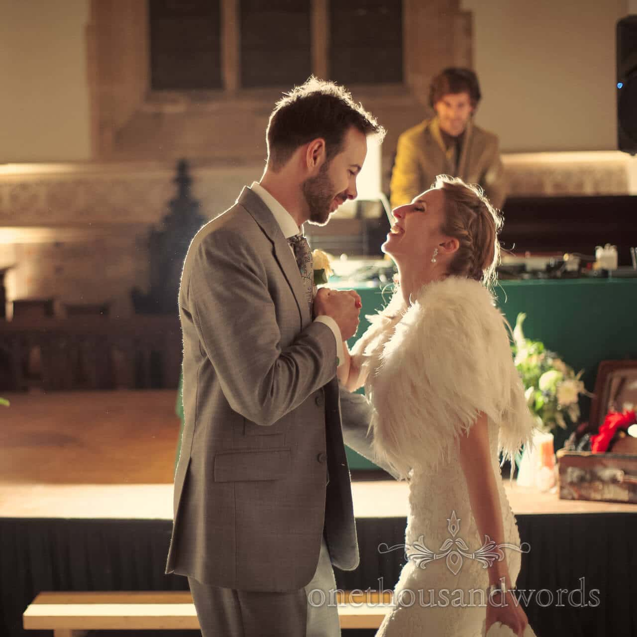 First dance wedding photograph at Pluch Manor Wedding