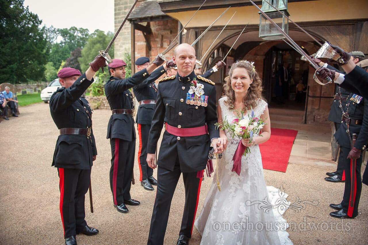 Military Wedding Photographs And An Olympic Gold Countryside Wedding
