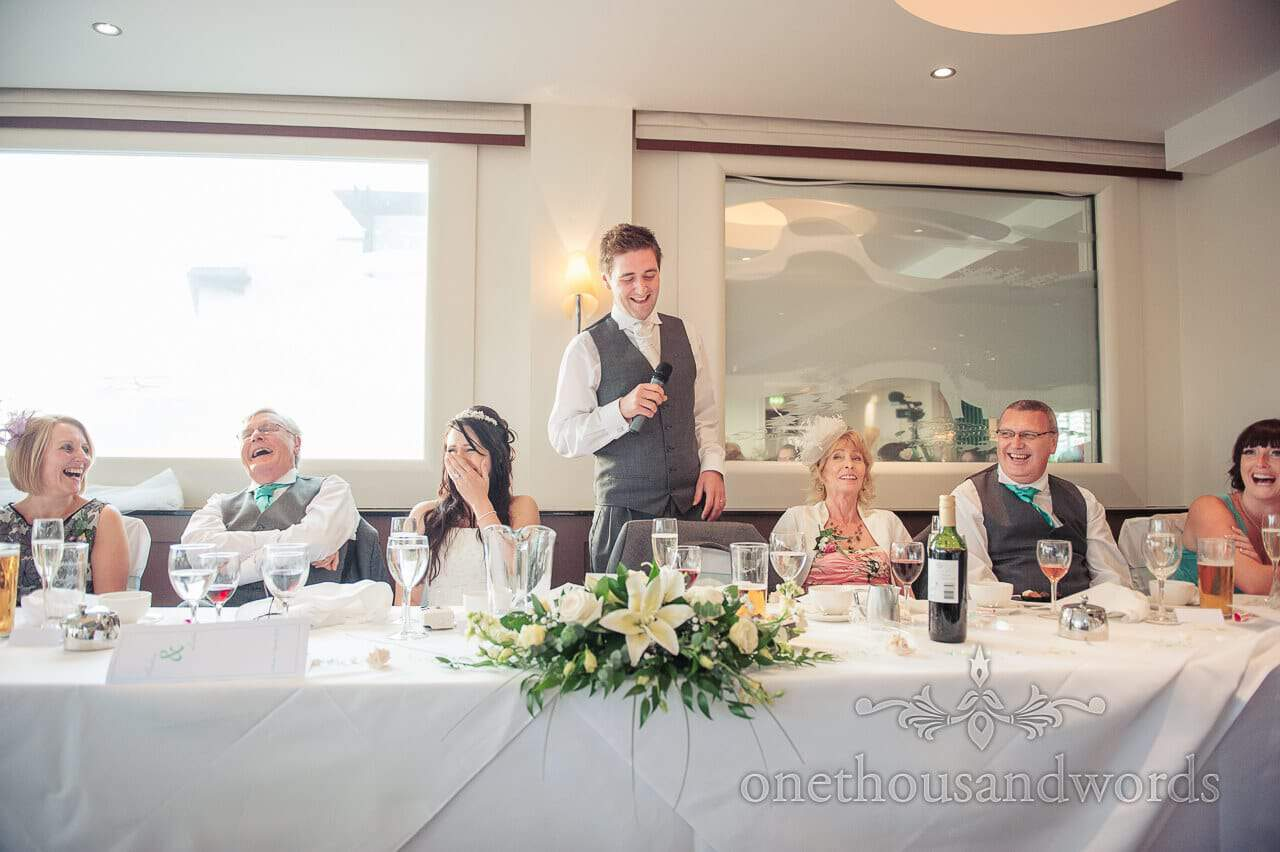 Poole Hotel Wedding at Harbour Heights, Dorset with Andy & Liska