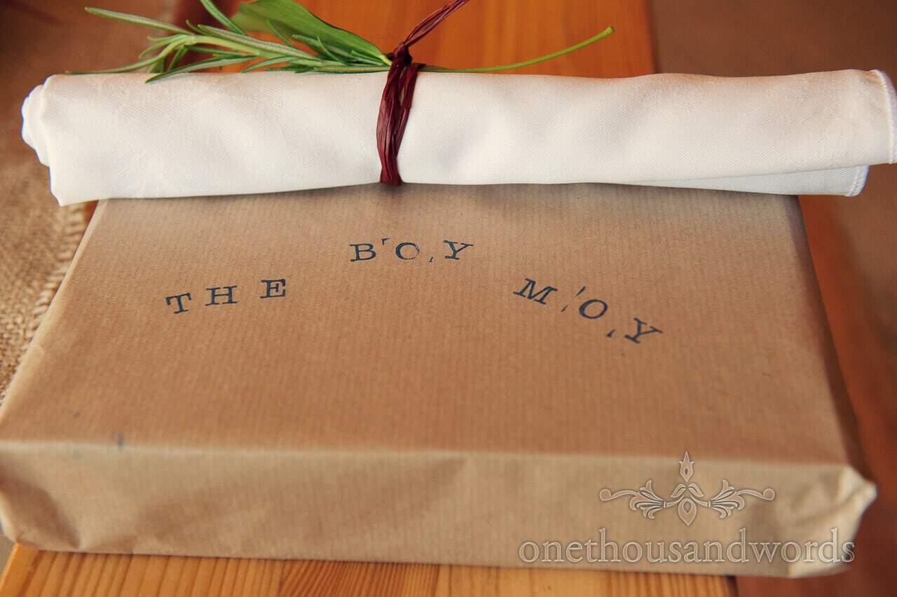 Personalised wedding gifts for groomsmen