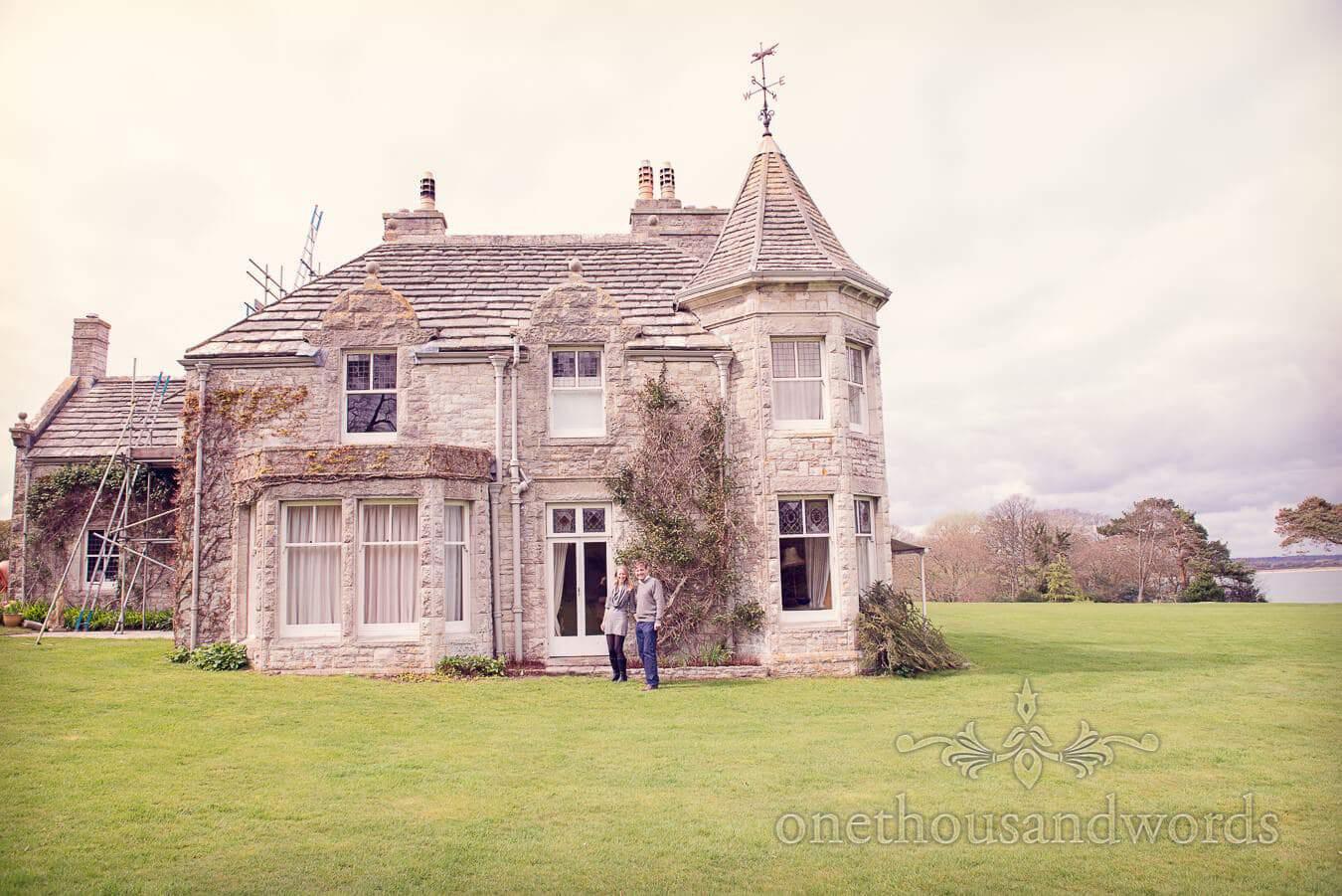 Harry Warren House Engagement in Studland, Dorset