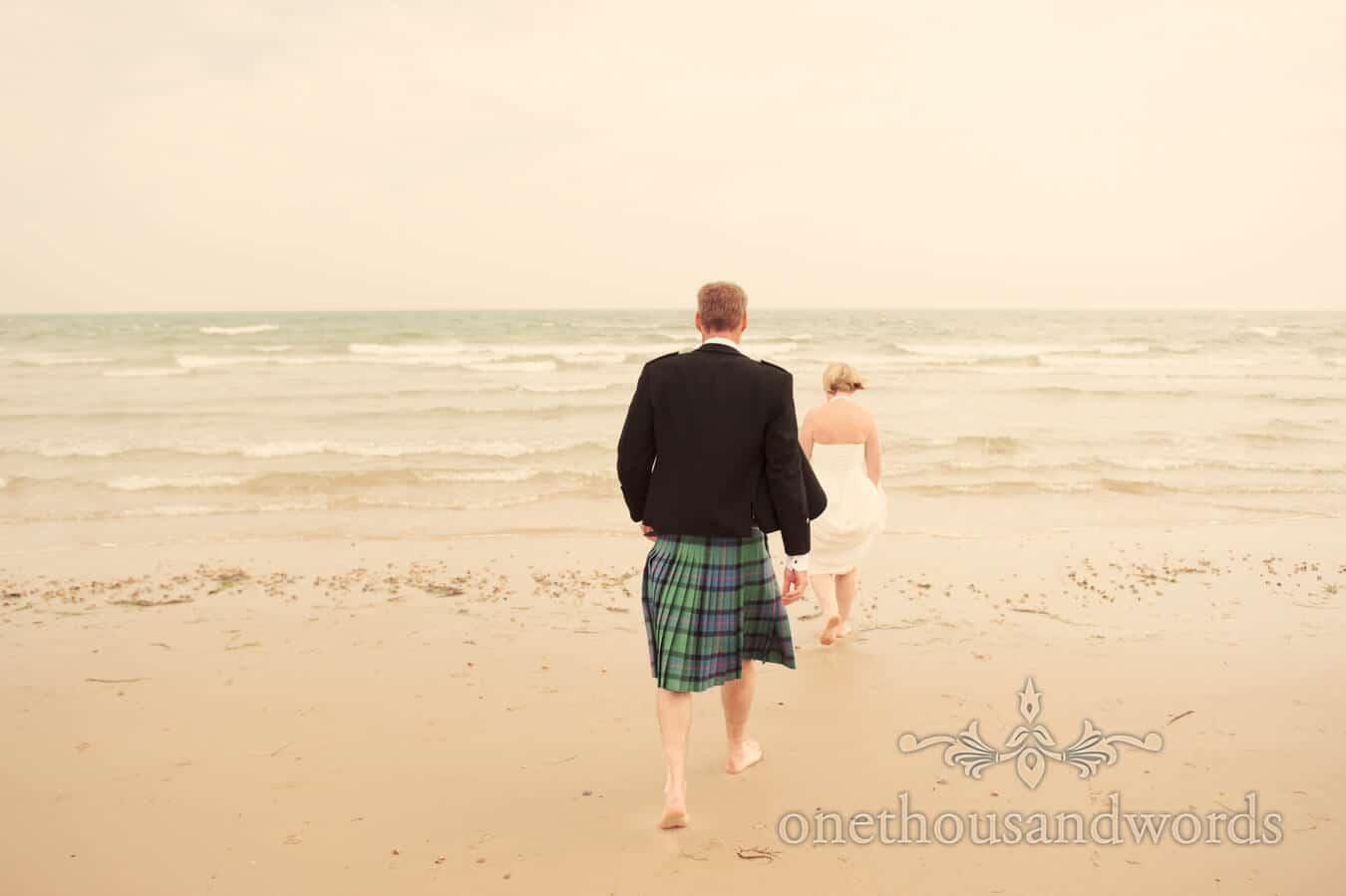 Beach Theme Wedding on Sandanks Beach