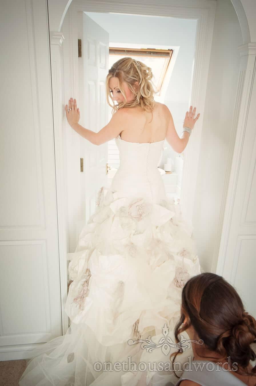 Bride has Ian Stuart wedding address adjusted on wedding morning